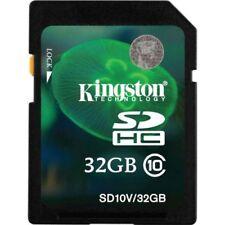 Kingston Technology SD10V/32GB SDHC 32 GB Class 10 Secure Digital High-Capacity