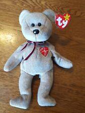 TY Beanie Bear 1999 Signature Bear Rare Perfect Condition