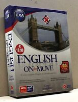 ENGLISH ON THE MOVE [dvd rom, corso completo, win/mac, con 2 cd audio e 1 dvd]