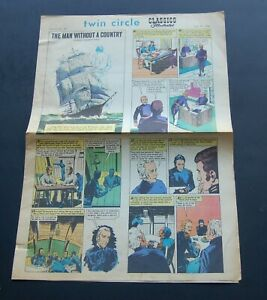 July 2 1968 Classic Illustrated Newspaper Comic Sect. Vol 2 #29  Man w/o a Count