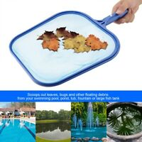 POOL LEAF SKIMMER Rake Net Clean Above Ground Swimming Durable Leaves Cleaning
