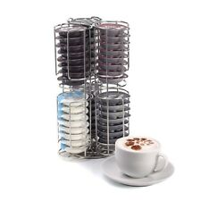 48 Coffee Pod Tassimo Capsule Holder Dispenser Stainless Steel Stand Rack Tower