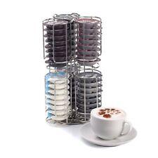 48 Cápsula Café Pod Tassimo Soporte Dispensador Acero Inoxidable Soporte Estante Torre
