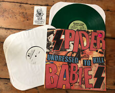 Spider Babies TEST PRESS Undressed LP Green Estrus Mummies Garage Punk Reatards