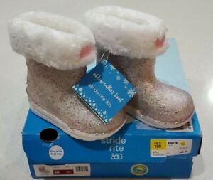 Stride Rite 360 Bellamy Girls' Size 5 Infant-Toddler All Weather Rain/Snow Boot
