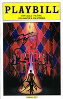 Sasha Allen Lead Player SIGNED Pippin Tour Playbill Pantages The Voice COA