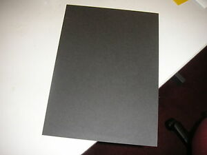 A4 BLACK CARD - price reduction