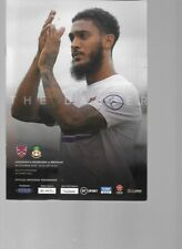PROGRAMME - DAGENHAM & REDBRIDGE v WREXHAM - 26 OCTOBER 2019