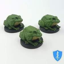 Giant Frog x3 - Storm King's Thunder #8 D&D Miniature