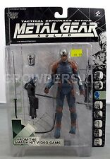 "Metal Gear Solid Tactical Espionage Action 6"" NINJA McFarlane Toy 98 NIP Variant"