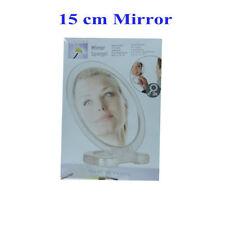 Clear Round Plastic Frame Bathroom Mirrors