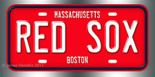Boston Red Sox Baseball MLB  License Plate Vanity Auto Tag Fathers Day