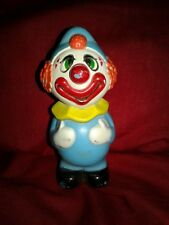 Vintage Plastic Toy Clown (Hong Kong)