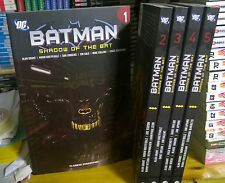 BATMAN-N°1/5-SHADOW OF THE BAT-serie completa DI ALAN GRANT-PLANETA-nuovi rari
