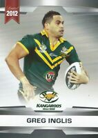 ✺Mint✺ 2012 SOUTH SYDNEY RABBITOHS NRL Card GREG INGLIS