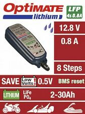 Optimate Lithium 12.8V 0.8A Motorcycle Battery Charger & Conditioner 2020 NEW