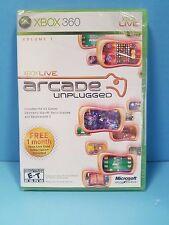 Xbox Live Arcade Unplugged Vol. 1 (Microsoft Xbox 360, 2006) Brand New