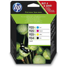 4x Cartucce Inchiostro ORIGINALE HP 934xl 935xl Set Officejet Pro 6230 e 6830 e 6820