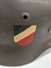 WW2 German Army Helmet DD With Liner and Leather Strap