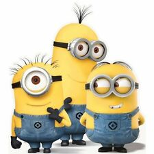 Despicable Me: 3x Minions action figures 17cm tall Play Set with Sound & Light!