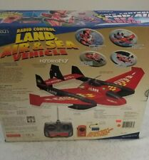 2006 Megatech Hydrofly Radio Control Land Air & Sea Vehicle Mtc9507 Sealed