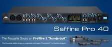 Focusrite Saffire PRO 40 Digital Recording Interface with Bundled Software