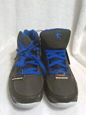 NWT AND1 men's athletic shoes, comfort padded insole, black/royal blue, 8.5