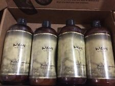 LOT OF 4  WEN SWEET ALMOND MINT CLEANSING CONDITIONER~16oz~SEALED~~1/2 GALLON