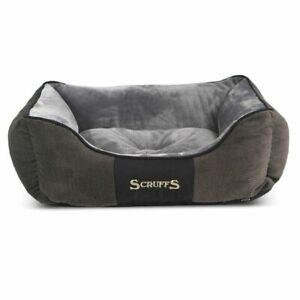 SCRUFFS CHESTER BOX BED GRAPHITE 4 SIZES