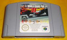 F-1 WORLD GRAND PRIX II 2 Nintendo 64 N64 F1 Vers. Europea PAL ○○ SOLO CARTUCCIA