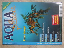 $$ Revue Aqua plaisir N°37 Hyphessobrycon flammeus  Theatre romain  Iguane vert