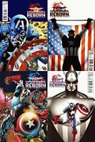 Captain America: Reborn #4-6 (2009-2010) Marvel Comics - 4 comics