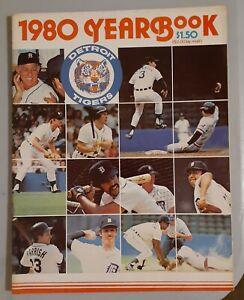 VINTAGE MLB   1980 Detroit Tigers Baseball Yearbook