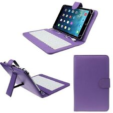 """PU Leather Keyboard Case Cover for TABTRONICS 4.4 KITKAT 10.1"""" Tablet PC"""
