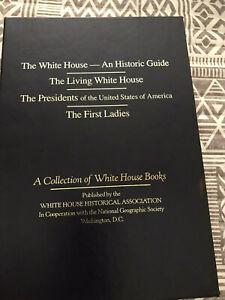 BOX SET OF 4 BKS-WHITE HOUSE/LIVING WHITE HOUSE/PRESIDENTS/FIRST LADIES, HB BKS