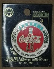 1996 Olympic Games Coca Cola Pin