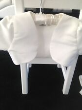 Flowergirls Satin Shrug,Age 4 or Age 5 Available,New & Unworn,Cost £25, Sell £4