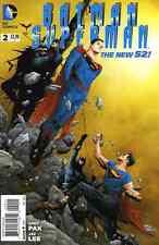 BATMAN SUPERMAN #2 NEAR MINT 2013 THE NEW 52
