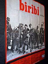 BIRIBI legion etrangere ! bruno cremer affiche cinema  1971