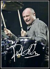Phil Collins, Autographed, Cotton Canvas Image. Limited Edition (PC-2)