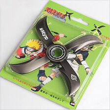 Hot Anime Naruto Uchiha Sasuke Rotatable Alloy Shuriken Weapon