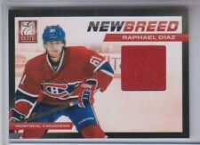 2011-12 Elite New Breed Materials Raphael Diaz Jersey #33 NM Condition