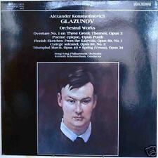 GLAZUNOV: Orchestral Works-M1985LP DGTL K. SCHERMERHORN