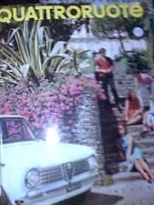 Quattroruote 103 1964 Lancia Fulvia Coupè