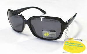 Cancer Council Womens Fashion Polarised Sunglasses Petite Bellambi Black Smoke