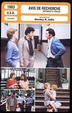 AVIS DE RECHERCHE - Nelligan,Hirsch (Fiche Cinéma) 1983 - Without A Trace