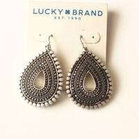 New Lucky Brand Teardrop Drop Earrings Gift Vintage Women Party Holiday Jewelry