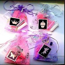 5 MINI GLITTER TATTOO KITS BUY THESES GET 5 FREE party bag fillers GIRLS or BOYS