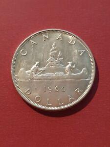 Canada 1960 Silver Dollar (800 Silver)