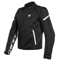 Veste Homme Dainese Bora Air Tex Noir Blanc Taille 62 Moto Perforé Été